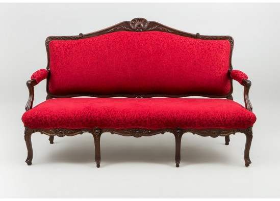 Скамейка в стиле Неорококо, Франция, середина 20 века