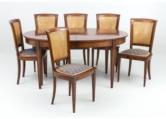 Kомплект для столовой в стиле Эклектика, Голландия, середина 20 века