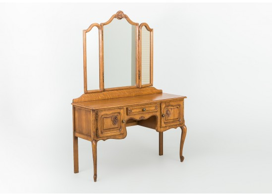 Косметический столик в стиле Рококо Людовик XV, Бельгия, середина 20 века