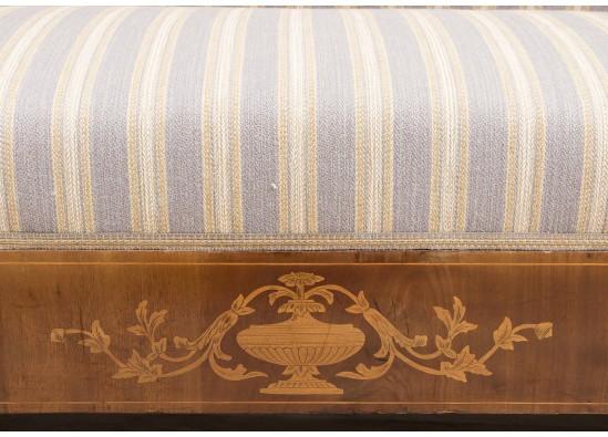 Old-fashioned sofa