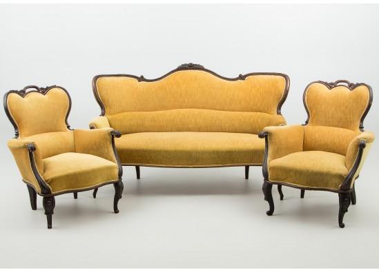 Kомплект для гостиной в стиле Эклектика, Швеция, середина 20 века