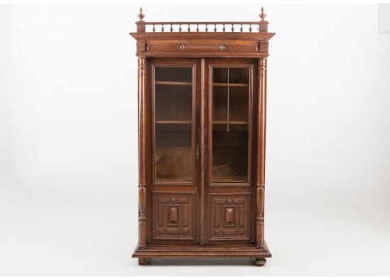 Kнижный шкаф в стиле Эклектика, Франция, конец 19 века