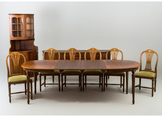 Kомплект столовой мебели в стиле Эклектика, Швеция, конец 20 века