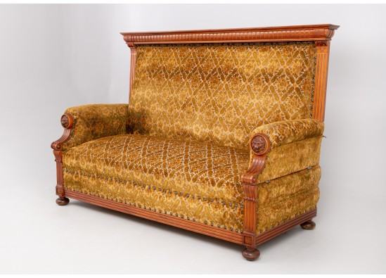 Sofa Old-fashioned bench