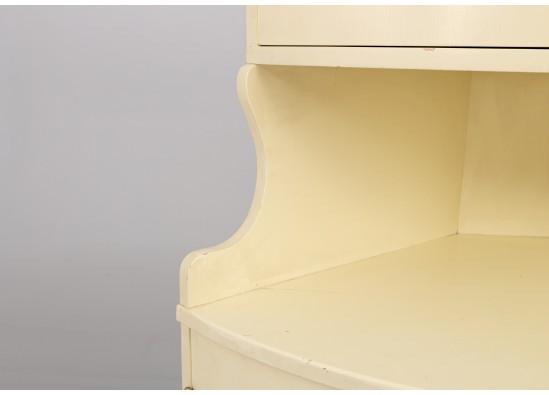 Corner dish cabinet