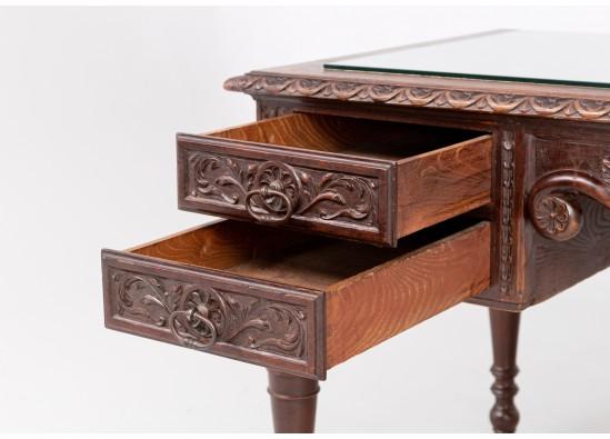 Rašomasis stalas su krėslu