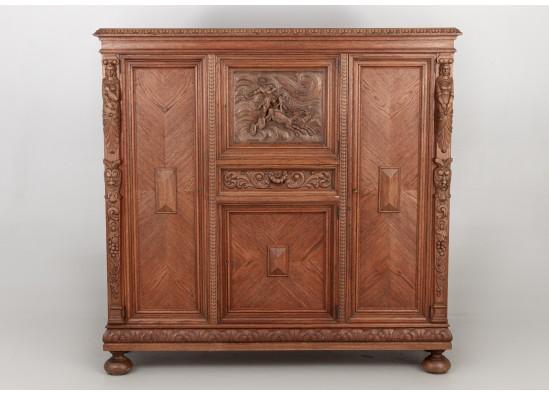 Bookcase - Dish cabinet