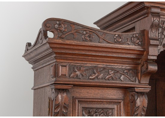 Dish cabinet -  Bookcase